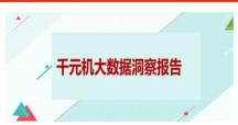 【信息图】千元机大数据洞察报告